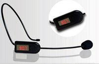 mini megaphone - Mini Wireless Microphone Headset Megaphone Radio Mic For Loudspeaker Teaching Meeting Tour Guide Microfones
