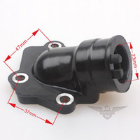 Wholesale Brand New Aftermarket Intake Manifold pipe For cc Minarelli Jog PE40QMB Stroke Engines Drop Shipping