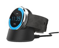 Wholesale Qi Standard Wireless Charging Charger Cradle Dock Station stand For Motorola Moto Smart Watch