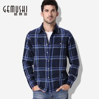 big and tall dress shirts - New autumn mens shirts fashion men long sleeve striped shirt men casual turn down collar big and tall clothes size M XL