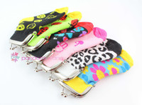 Wholesale Coin Purses Wallet Lovely Style Children Cotton Socks Knitted Fabrics Mix Colour A Gift