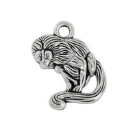 Wholesale Chinese Zodiac Animal Charms - 2016 New Design Charms Fashion Chinese Zodiac Monkey and Dog Pendant Charms