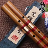 bamboo flute music - Students flute on sale Traditional Handmade Bamboo Chinese Dizi Flute Professional hengdi Woodwind Flauta Music Musical