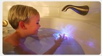 Cheap 60pcs lot Party in the tub light bathtub light-up toy Waterproof Led Light Toy Bath Tub Tizzies Floating lights