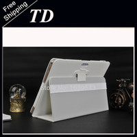 Wholesale 9 inch tablet case TD i960 Our special case T950 case lenovo I960 CASE White and black