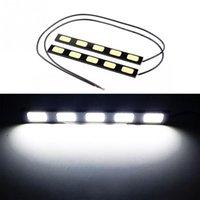 Cheap 2pcs 5 LED Car Daytime Running Light Daylight Lamp Car Driving Lights Driving Lamp Black