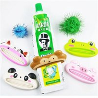 Wholesale Cute Animal multifunction squeezer toothpaste squeezer Home Commodity