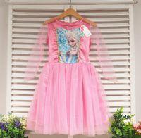 Cheap Frozen short sleeve dress Best Frozen princess dresses