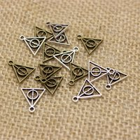 Wholesale 150pcs mm Harry Potter Deathly Hallows Charms Vintage Metal Zinc Alloy Trendy Harry Potter Pendant for Jewelry