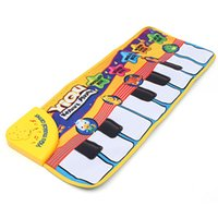 Wholesale Hot sale Keyboard Music Carpet Mat Blanket Kids Learn Singing Educational Gift