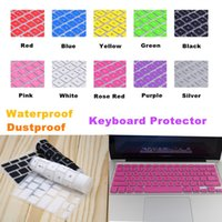 Cheap Free shipping Silicone Laptop Notebook Keyboard cover skin protector for Apple MacBook Pro 13.3 Macbook Air 15
