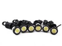Wholesale 6Pcs W LED Eagle Eye White Light Daytime Running DRL Tail Backup Light Car Motor