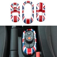 Cheap Car Styling Union Jack Window Lifter Switch Control Panel Cover Trim For BMW Mini Cooper High Quality Auto Accessories