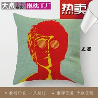 beatles tv - lb cotton cloth Beatles Pillow Cushion American TV star anime game around Pillow Cushion