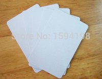 Wholesale Blank PVC Plastic White Inkjet Card No Chip Printable By Epson Canon Printer with Card Tray