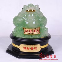 Wholesale Three legged lucky toad decoration Large toad home tv wine cooler entranceway decoration gift