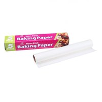 blotting paper - 5 Meters Non Stick Baking Paper Oilpaper Oil Blotting Paper For Kitchen Food Baking BBQ Microwaves Oven Greaseproof Paper JE0106 Salebags