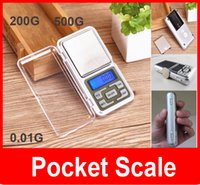 Wholesale Mini jewelry pocket LCD Digital Scale Electronic Scale Weight Scale backlight G G G g tl oz ct