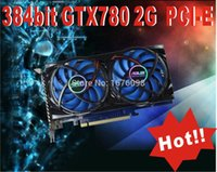 Wholesale GTX780 bit placa de video nvidia G independent public version of GTX DDR3 pci express Computer Games video graphic card