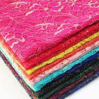Wholesale Hot New Tops High Quality Color Water Soluble D African Lace Venice Lace Fabrics Wedding Dress Fabrics