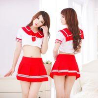 sexy school uniform - sexy Pure school uniforms School uniforms Korean Bachelor of service DS lead dancer clothing costumes costumes