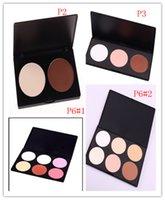 Wholesale 6 Colors Foundation Powder Pigment Customized Private Label Face Powder Nature Blush Palette Makeup Discount Makeup Blush