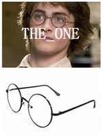 Wholesale New Arrival Metal Nerd Bookworm Round Fram Eye Dress Up Glasses Halloween Costume Harry Potter Style Glasses vintage in stock