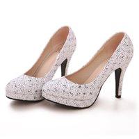 Cheap Bride Wedding Shoes Best Girl High Heels