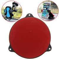 Wholesale Car Cradle Holder GPS Adhesive Dash Board Suction Disc Disk Sticky Pad Vehicle Mounts Instrument Desk Sucker