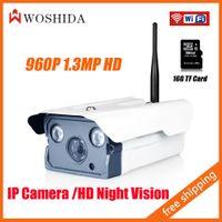 Wholesale 1 MP HD IP Network Camera P WIFI Security Camera Storage Camera Build in IR CUT G TF Card Woshida