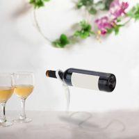 amazing wine - Fashion Wine Holder Magic White Rope Wine Bottle Holder Amazing Floating Bottle Rack Stand Shelf for Home Party Restaurant H16073