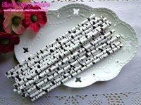 Wholesale Lovely Zebra Paper Straw Wedding Straws