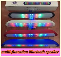 Wholesale multi funcation Bluetooth Speaker For iPhone Wireless Bluetooth Speaker LED Light Show Portable Wireless outerdoor speaker Bluetooth