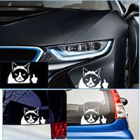 Cheap Popular Funny Grumpy Cat Sticker Decals JDM Auto Car Bumper Tailgate Window Vinyl Decal #80701