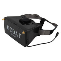Wholesale 5 G Dual Receiver FPV D Video Glasses Viewer Handset Video Virtual Display