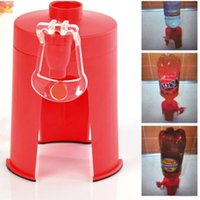 Wholesale 1pc New Arrival Soda Dispense Gadget Coke Party Drinking Fizz Saver Dispenser Water Fountains