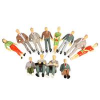 Wholesale Best Promotion Building Model Train Railroad Passenger Painted People Figures Scale order lt no track