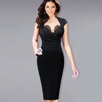 adjustable hot short - 2016 Emage Womens Hot Sexy Built in Lace Bra Stand Collar Adjustable Zipper Ruched Party Clubwear Club Sheath Bodycon Dress