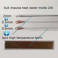 Wholesale model pfs fs impulse heat sealer Accessories heating wire heater strip High temperature fabric total