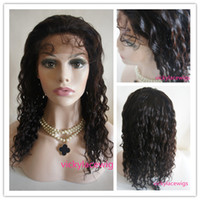 Wholesale Ali queen curly lace wigs Indian remy human hair wigs Swiss lace beautiful star glueless full lace wigs