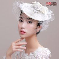 ancient silk - 2016 new bride headdress gift hat and show ou gauze veil wedding hair accessories wedding dresses modelling with restoring ancient ways
