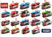 automobile trailers - 20style TOMY authentic cars Cars alloy car model automobile vehicles autos cars2 trailer cars game bk012B