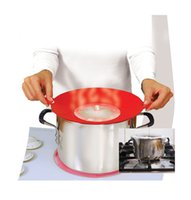 Wholesale Spill Stopper Lid Cover Guard Pan Kitchen Cooking Tool Boil Pot Hot Utensil Gift With Logo Packing