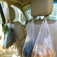 Wholesale 1 Pair Car Back Seat Hanger Holder Hooks For Bag Purse Cloth Colors