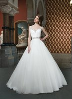 Cheap Vintage 2015 Wedding Dresses Beach Cheap Bridal Gown Square Neckline Chiffon A Line Custom Made Court Train With Beads Formal New Gown Dress