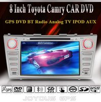 car dvd player gps and bluetooth - Factory Price Toyota Camry CAR DVD Player Built in GPS Navigation Analog TV Ipod Radio and Bluetooth Call Phonebook