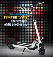 disc brake motor - 2015 new style Scooter foldable AH Lithium battery W high speed motor front rear Disc brake LCD display heavy loading H3 V10AH