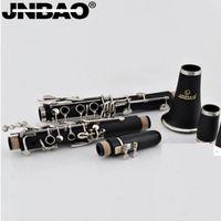 Wholesale new JINBAO JBCL E530B flat clarinet wind musical instrument for beginners clarinete for beginner klarnet