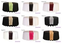 Wholesale many color cm cm Wedding Table Runner wedding party supply