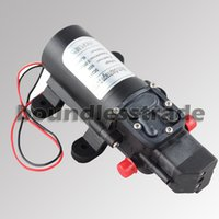 Wholesale New V W DC Mini Diaphragm Water Pump Automatic Switch for Car Caravan Marine Boat Camping _WQ002